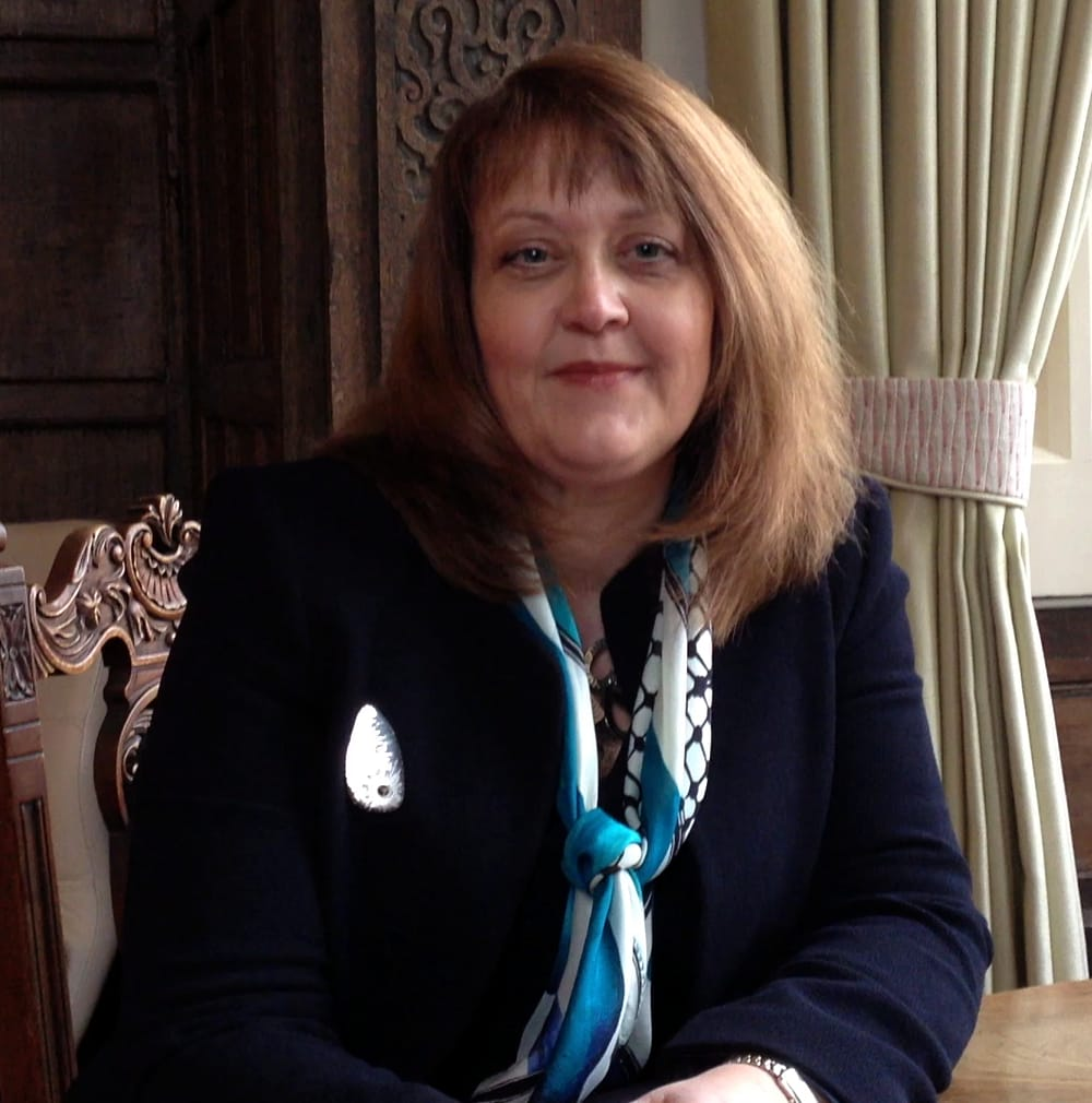 Sally Cheshire, HFEA Chair, visited Bourn Hall Clinic