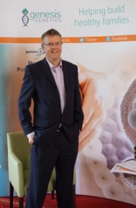 David Chrimes, Genesis Genetics