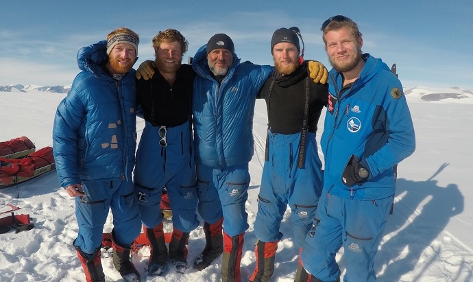 The SPEAR team finish the journey