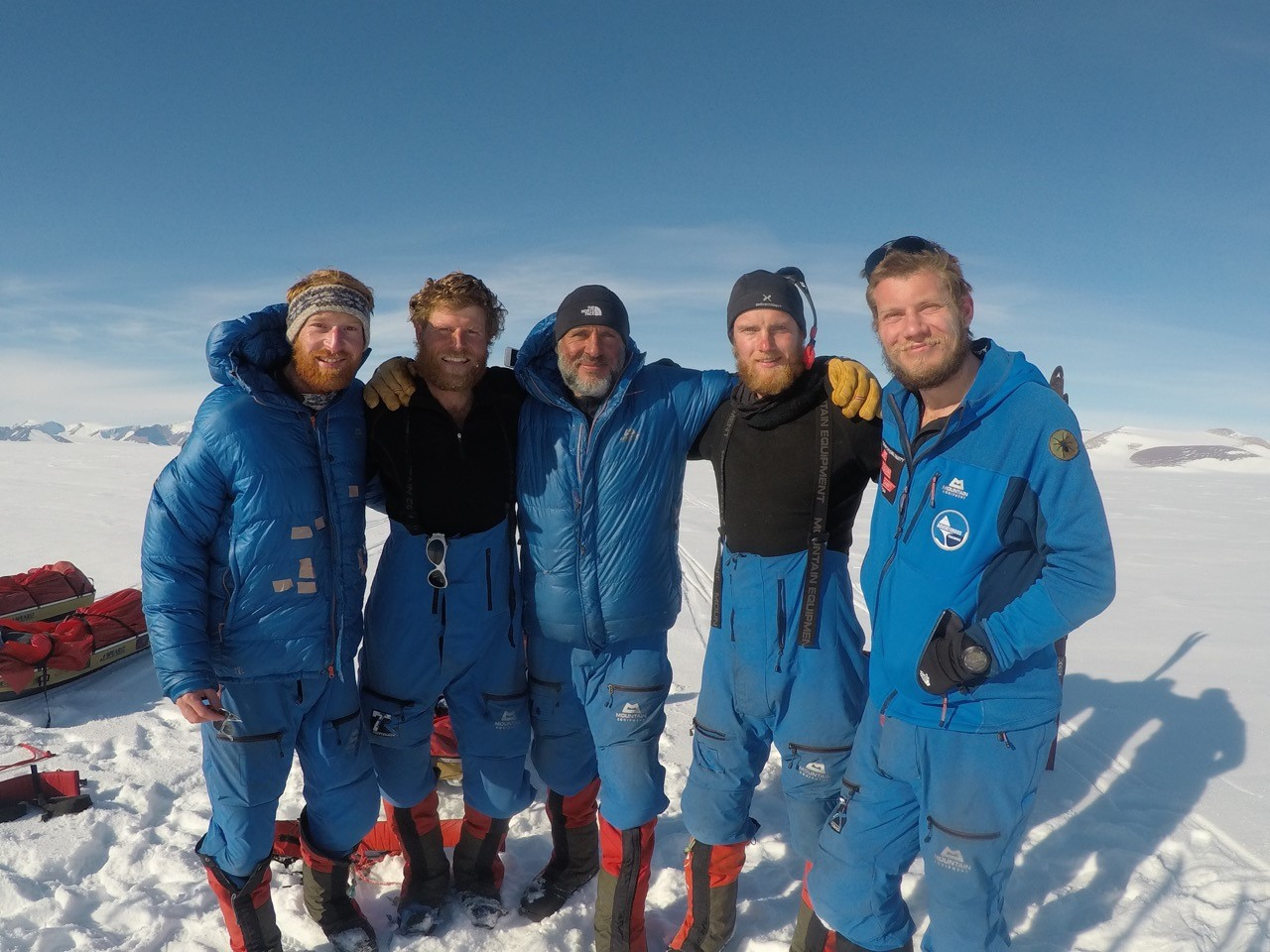 The SPEAR17 team at the end of their journey