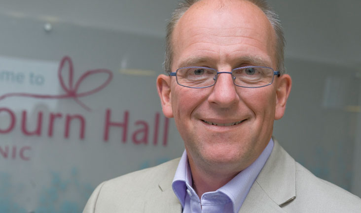 Martyn Blayney, Head of Science at Bourn Hall