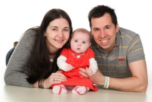 Jason, Amanda and Effie - Surrogacy helped Amanda have her own child after cancer