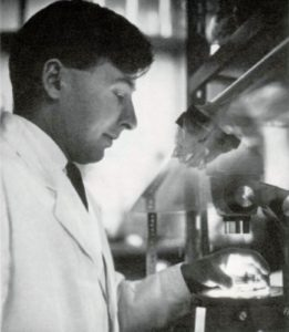 Professor Robert Edwards in 1965