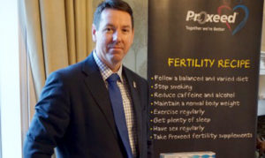Male infertility - Michael Close at Fertility Fayre
