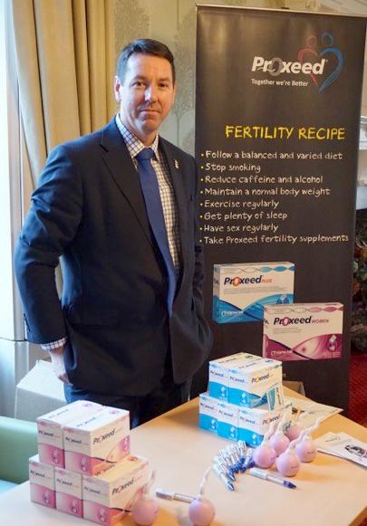 Michael Close at Fertility Fayre