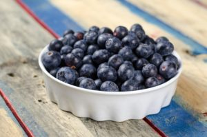 Blueberries are high in anti-oxidants - good for male fertility