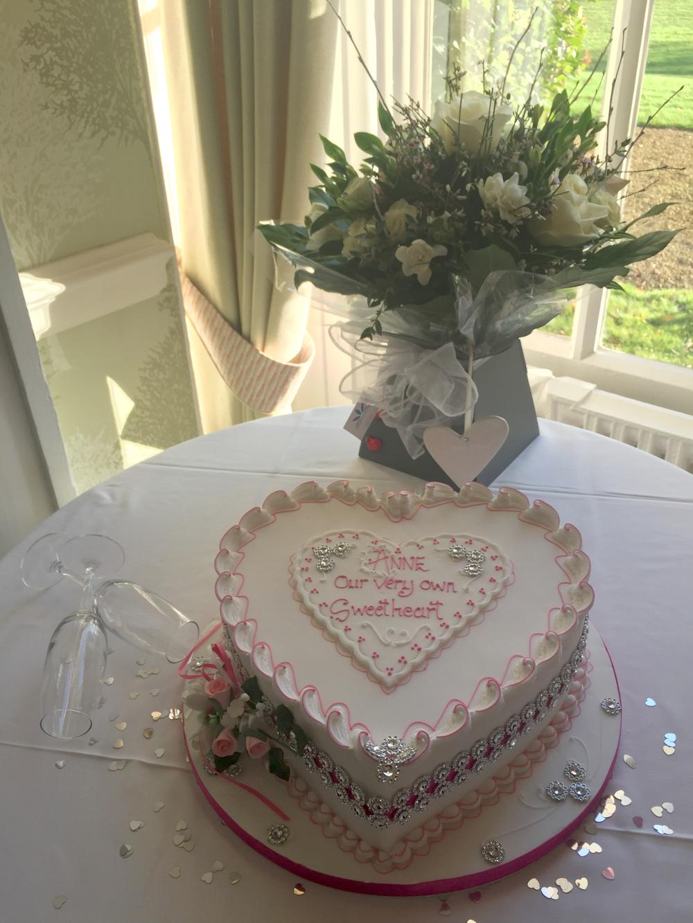 Anne Baldwin's cake