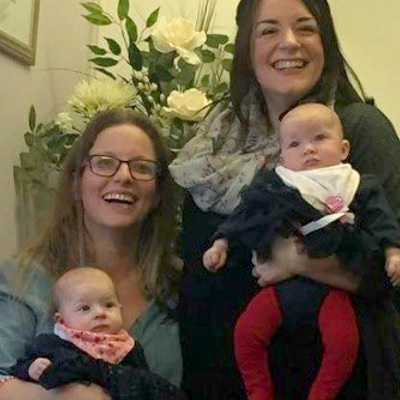 Family dream comes true for Emily and Debbie thanks to donor sperm