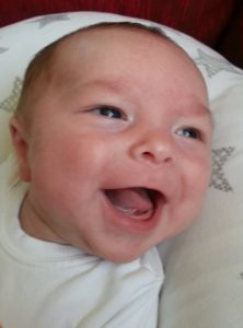 Baby Freddie - first baby born thanks to Bourn Hall Wickford IVF in Essex