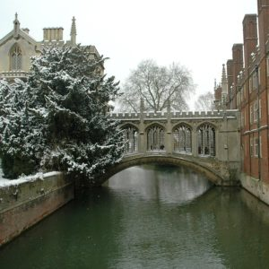 Cambridge in Winter - NHS IVF treatment may still be available for some Cambridge patients