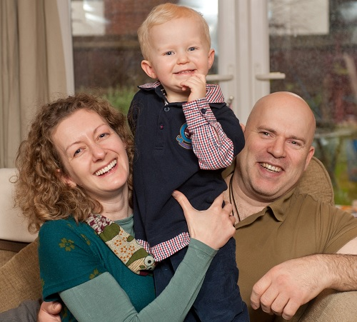 Hannah, Steve and Jack - Bourn Hall now offers IVF in Peterborough