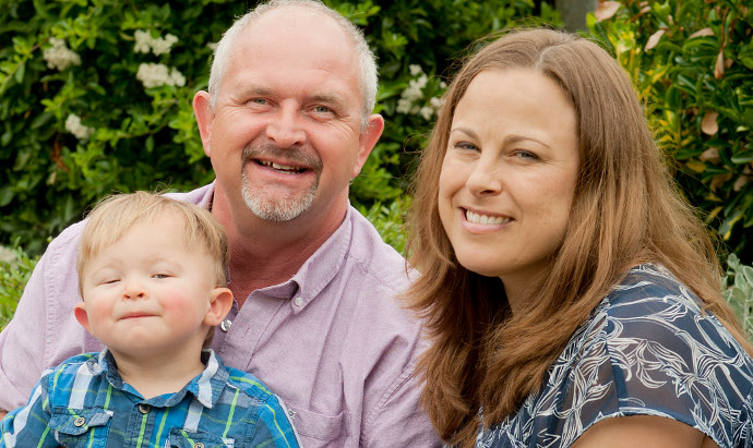 Parenthood at last for couple who took 'a leap of faith' with medical science