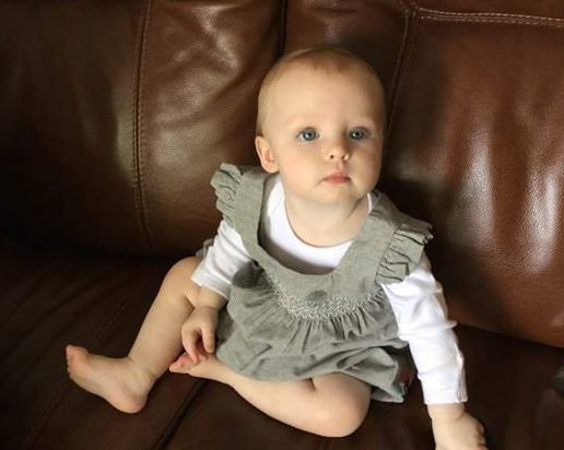 Sophie was born as a result of fertility preservation ahead of cancer treatment