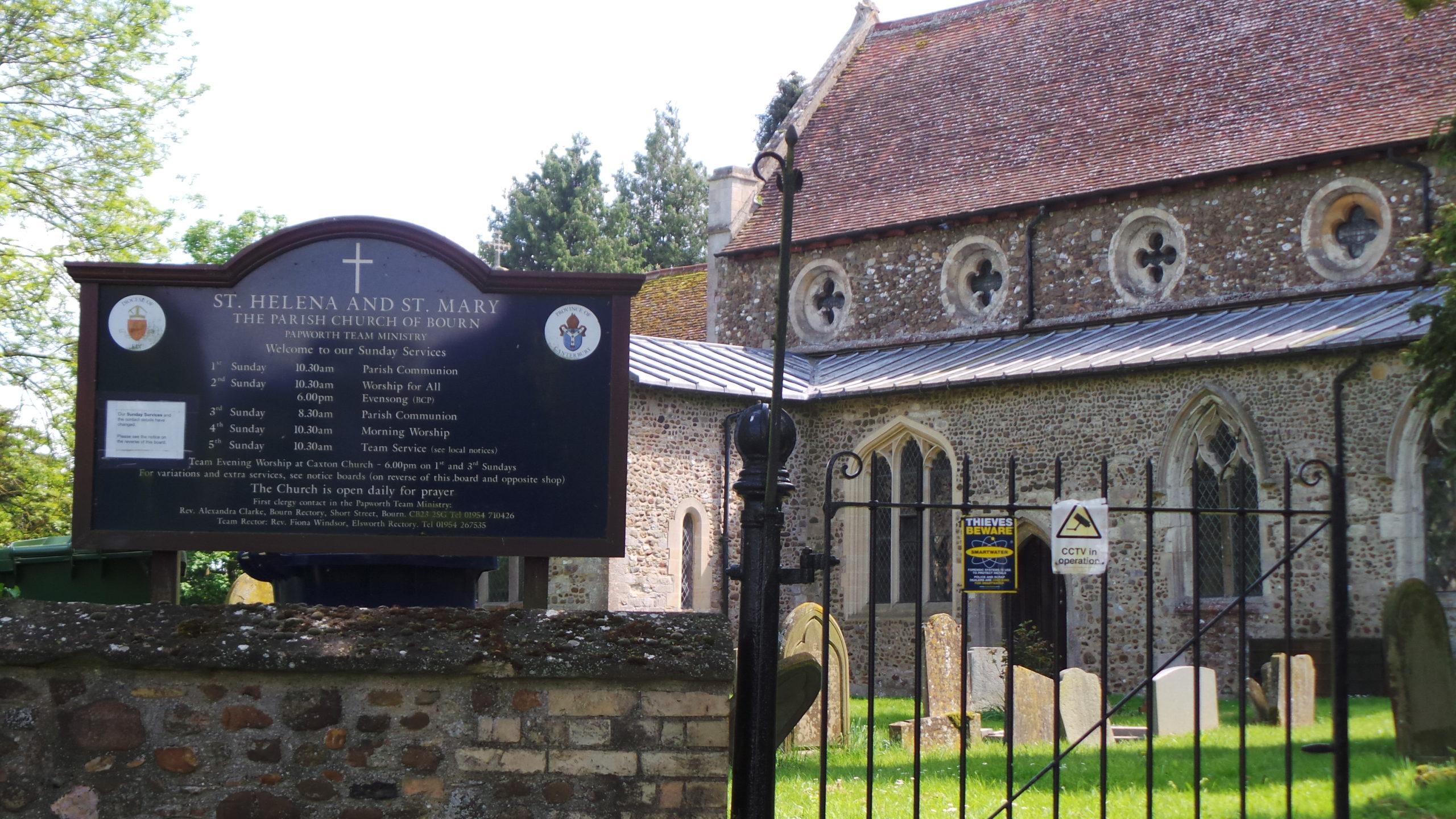 The Bourn church