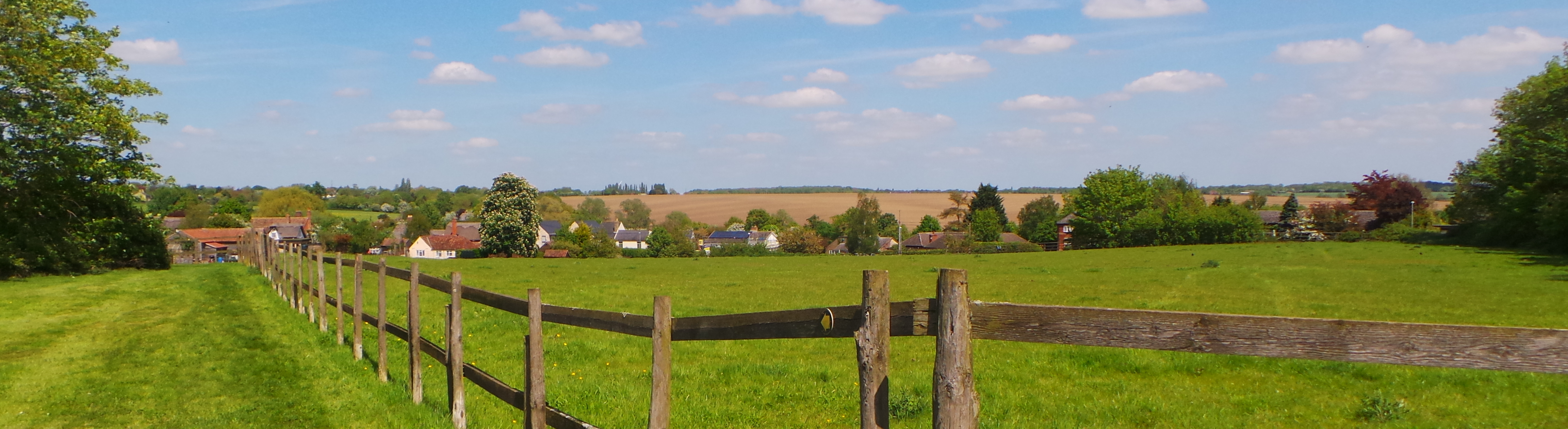 View across Bourn