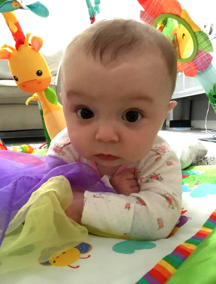 Norfolk IVF baby