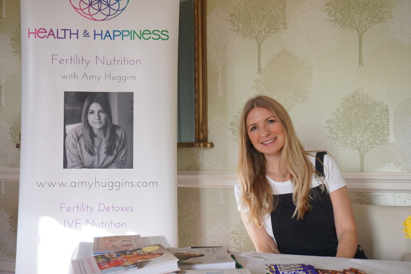 Amy Huggins, Nutritionist