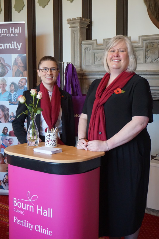 Patient Services staff Jessica Dungar and Jo Brand