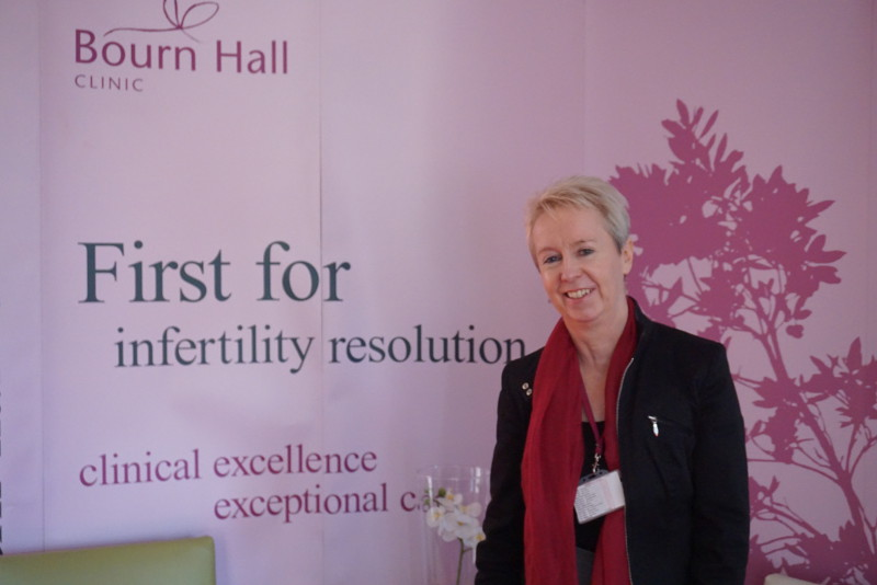 Sharon Harper helps run our Fertility Patient Support Group