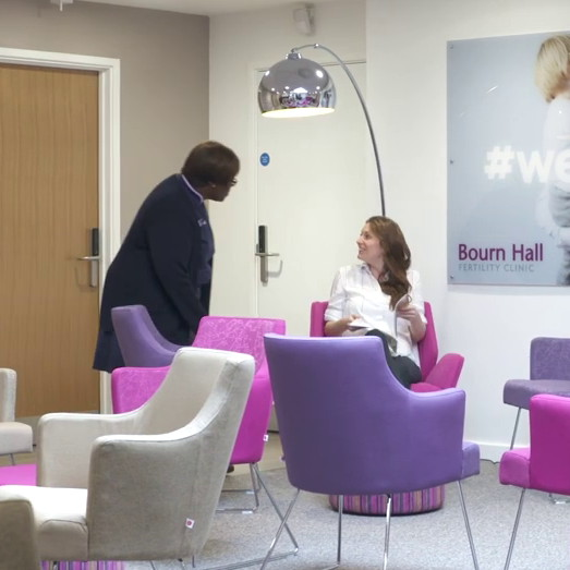 Have a free consultation with a friendly fertility nurse specialist at Bourn Hall