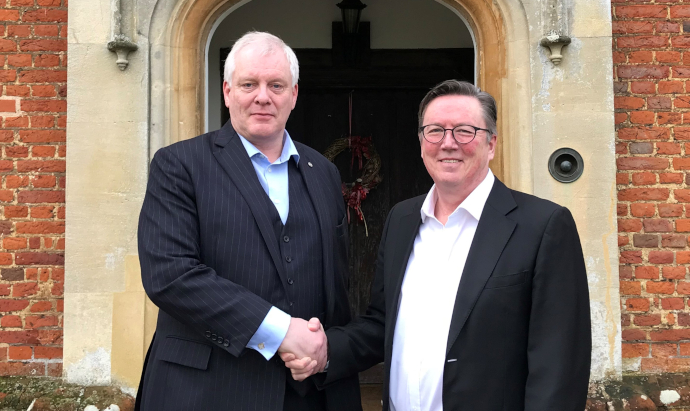 Sean Sullivan appointed new chair Bourn Hall board