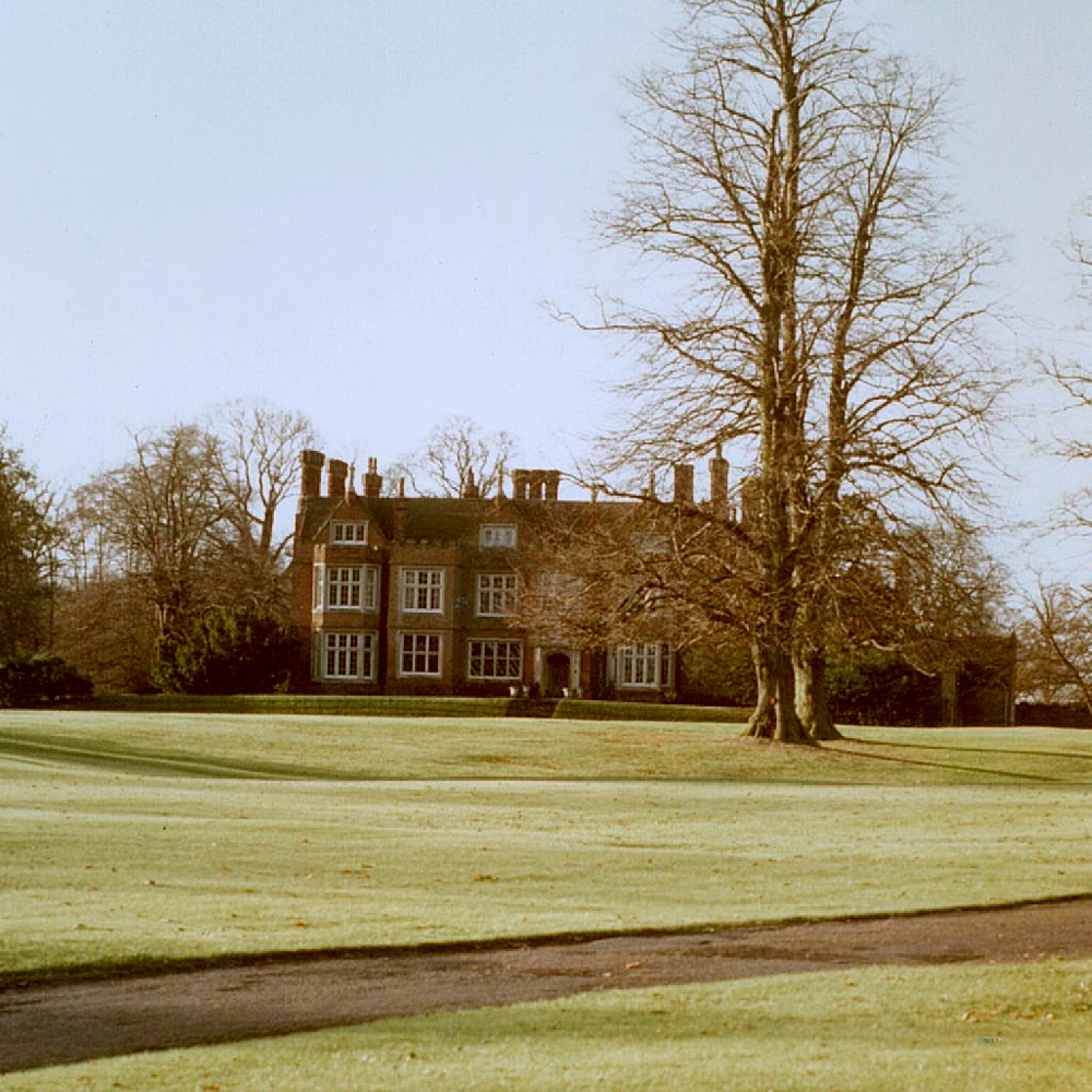 Bourn Hall before the work began in 1980