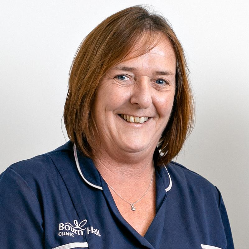 Fertility nurse specialist Jackie Richardson