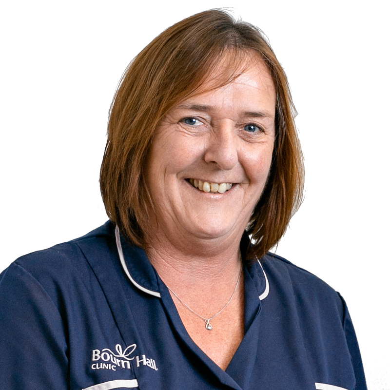 Fertility nurse specialist Jackie Richardson