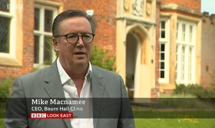Mike Macnamee interviewed on BBC Look East 27 May 2020