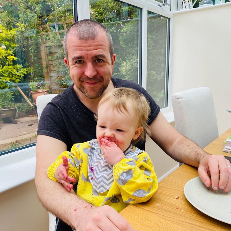Matt and Elle - impact of male infertility Fathers' Day blog 2