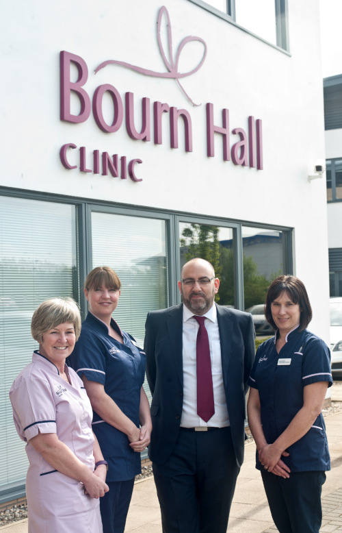 Bourn Hall Norwich 500th Baby