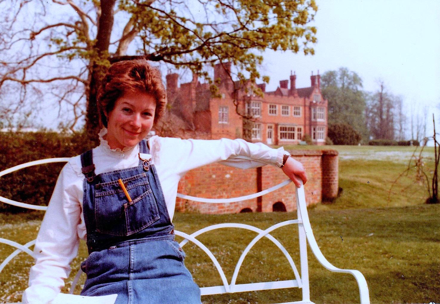 Judy Featherstone at Bourn Hall