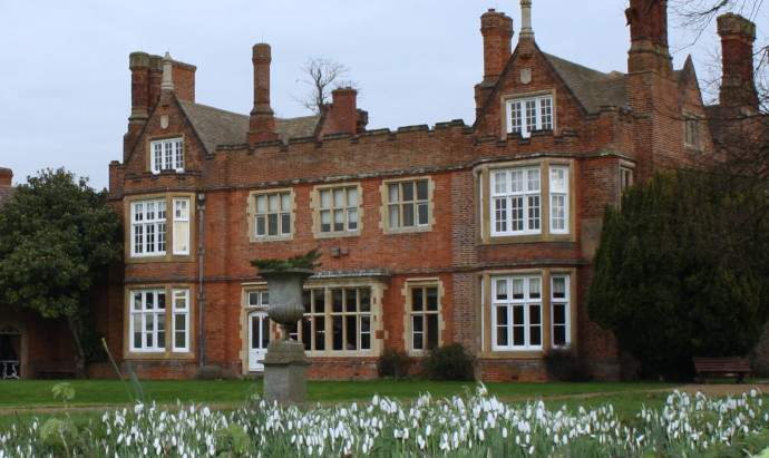 Snowdrops at Bourn Hall