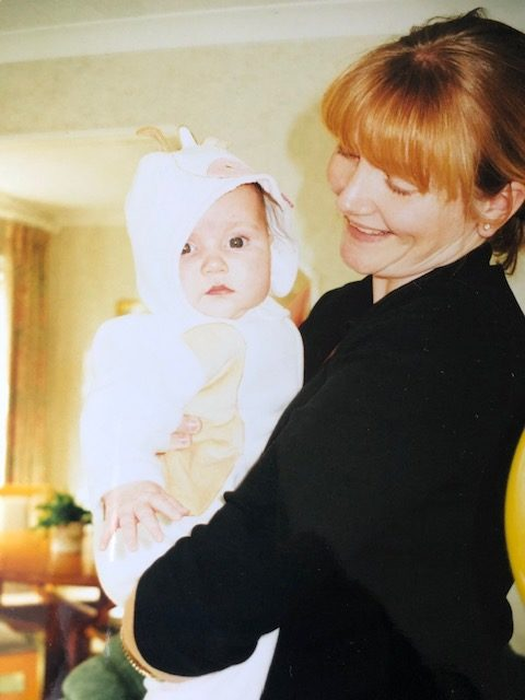 Janellan with Ellie when she was a baby