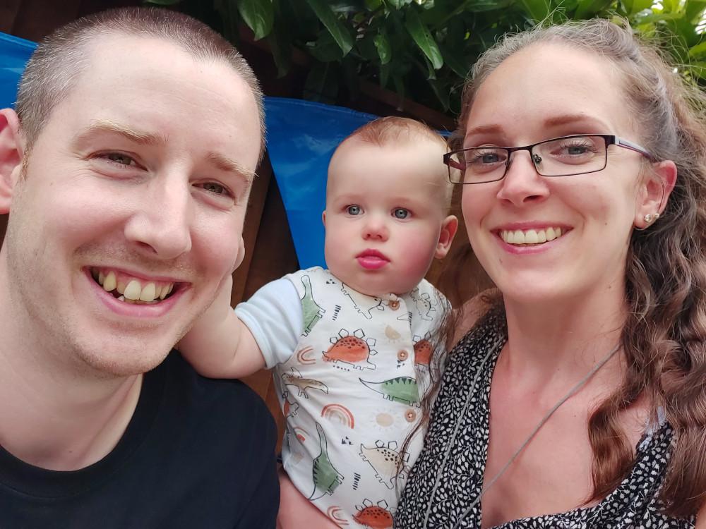 George, Owen and Kirstie